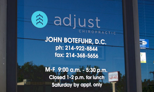 Adjust Chiropractic John Botefuhr, D.C.