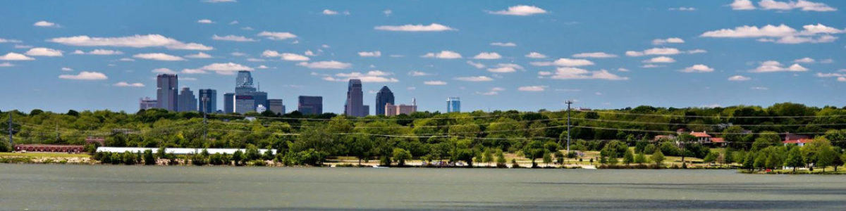 Beautiful view of White Rock Lake, Dallas, Texas 75218